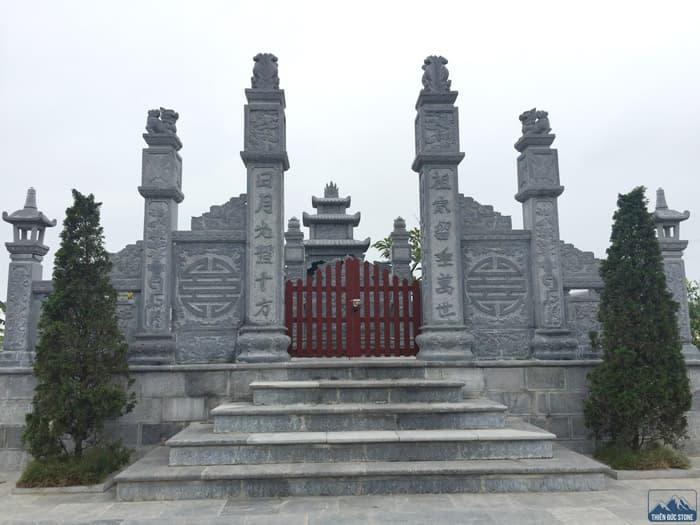Cổng khu lăng mộ đá đẹp | Thiên Đức Stone