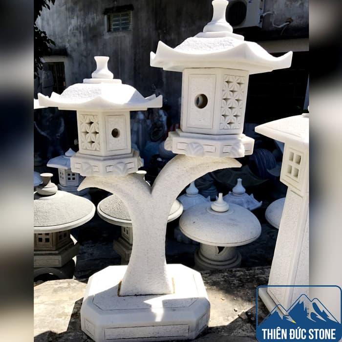 Đèn đá sân vườn Nhật Bản đẹp   Thiên Đức Stone