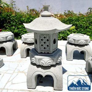 Đèn đá sân vườn Nhật Bản đẹp | Thiên Đức Stone
