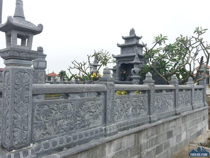Hàng rào đá đẹp | Thiên Đức Stone