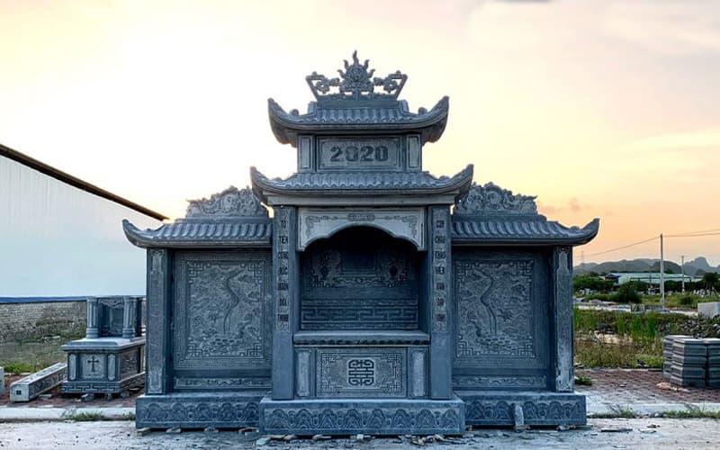 Thi công lăng mộ đá | Thiên Đức Stone