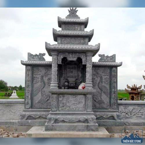Mẫu lăng thờ đá | Thiên Đức Stone
