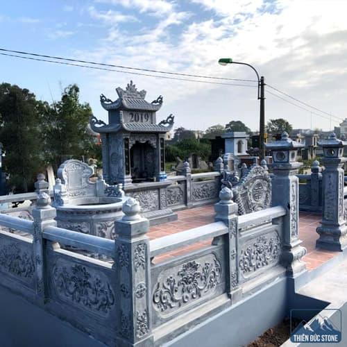Mẫu lăng mộ đá | Thiên Đức Stone