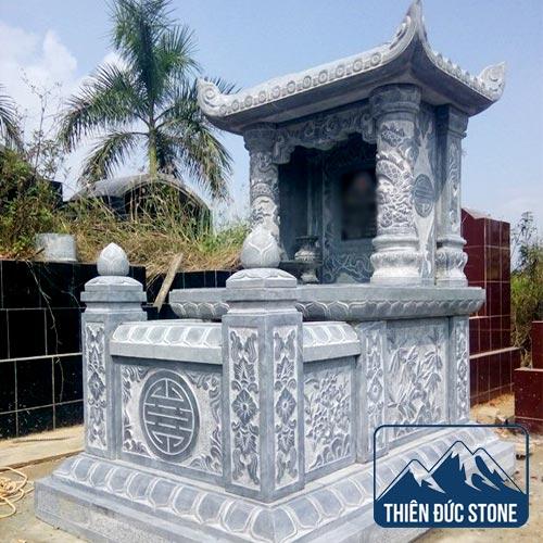 Mộ đá 1 mái | Mộ đá đẹp Thiên Đức Stone