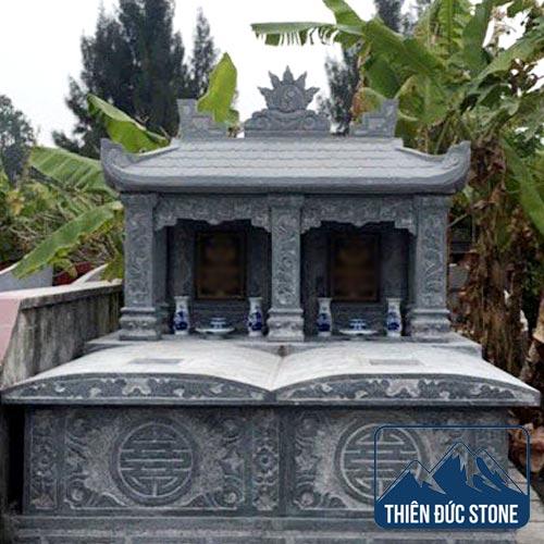 Mộ đá đôi | Mộ đá đẹp Thiên Đức Stone