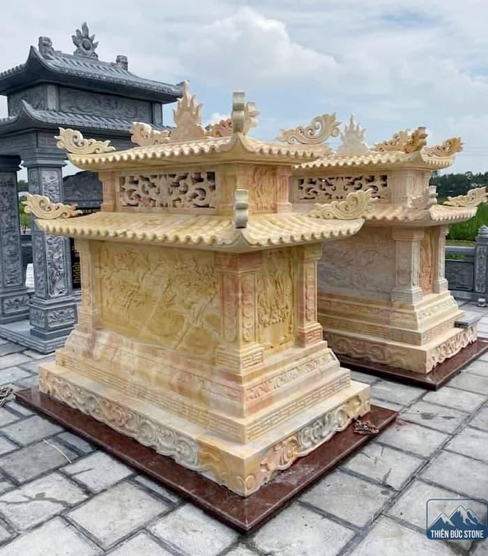 Mẫu mộ đá | Thiên Đức Stone