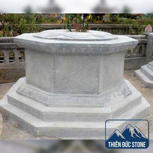 Mộ đá lục giác | Mộ đá đẹp Thiên Đức Stone