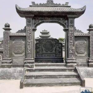 Tấm bình phong lăng mộ đá | Thiên Đức Stone