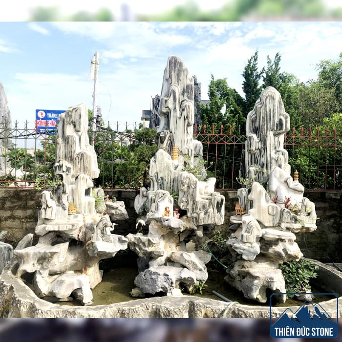 Thiết kế thi công hòn non bộ sân vườn | Thiên Đức Stone