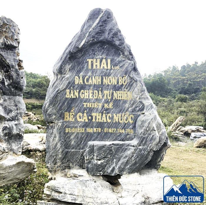 làm biển hiệu công ty bằng đá | Thiên Đức Stone