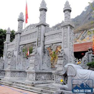 Cổng đá đẹp cho đình chùa | Thiên Đức Stone