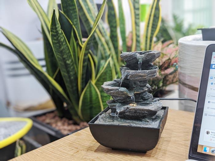 Tự làm đài phun nước mini tại nhà | Thiên Đức Stone