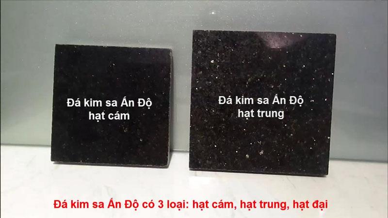 Phân loại đá kim sa   Thiên Đức Stone