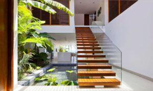 Thiết kế hồ cá trong nhà đẹp | Thiên Đức Stone