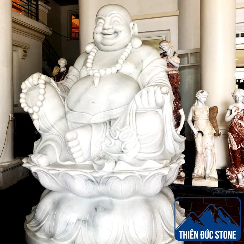 Tượng phật Di Lặc bằng đá | Tượng đá nghệ thuật | Thiên Đức Stone