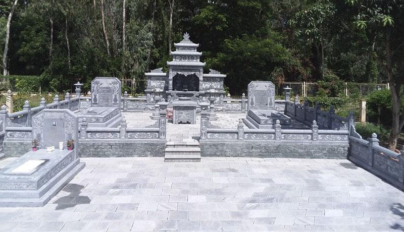 Vị trí xây lăng mộ đá   Thiên Đức Stone
