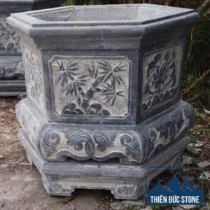 Chậu đá trồng cây | Thiên Đức Stone