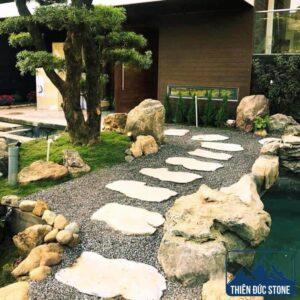 Đá bước dặm sân vườn | Thiên Đức Stone