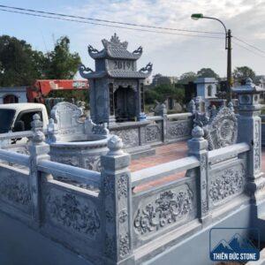 Lan can đá cho lăng mộ | Thiên Đức Stone