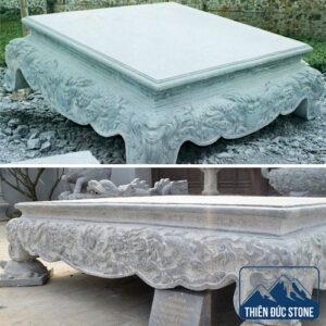 Sập đá tự nhiên nguyên khối | Thiên Đức Stone