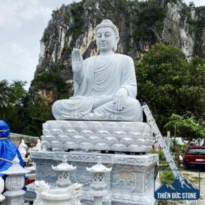 Tượng Phật Thích Ca Mâu Ni bằng đá | Thiên Đức Stone